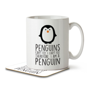 Home - penguin mug coaster 1