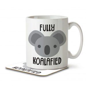 Fully Koalafied – Mug and Coaster