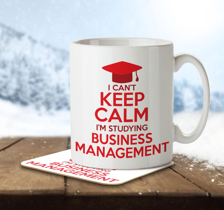I Can't Keep Calm I'm Studying Business Management - Mug and Coaster - MNC CKC 017 ENV