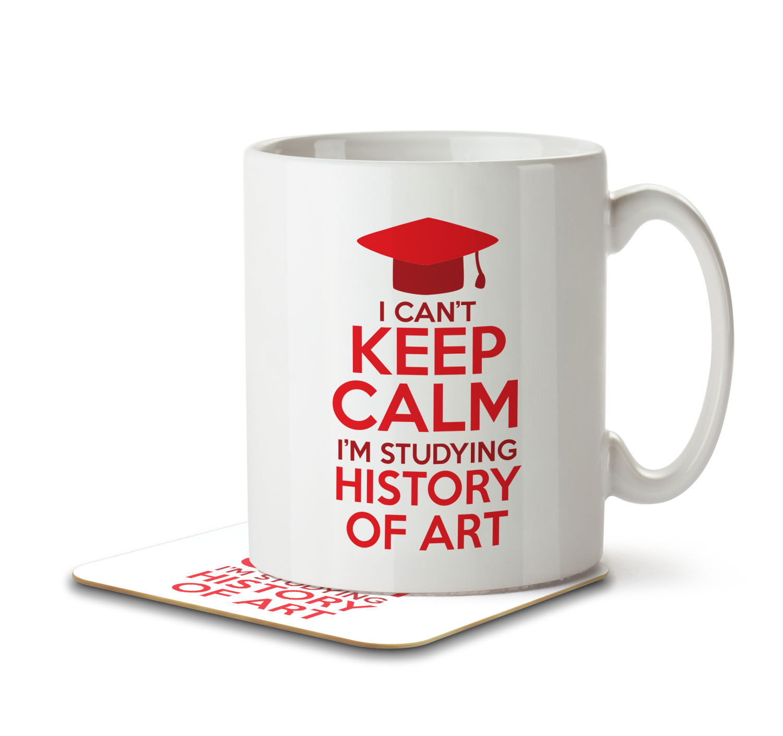 Mug and Coaster By Inky Penguin I Cant Keep Calm Im Studying Mechanical Engineering