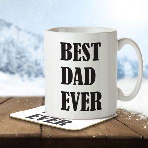 Best Dad Ever – Mug and Coaster
