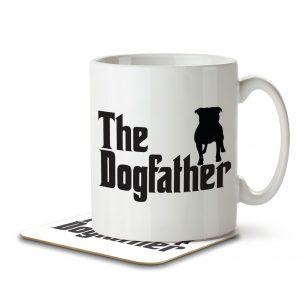 The Dogfather – Mug and Coaster