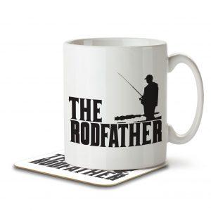 The Rodfather – Mug and Coaster
