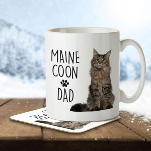 Maine Coon Dad – Mug and Coaster