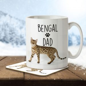 Bengal Dad – Mug and Coaster