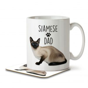 Siamese Dad – Mug and Coaster