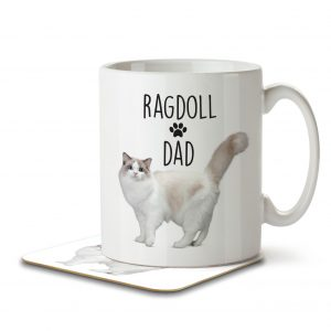 Ragdoll Dad – Mug and Coaster