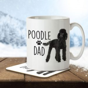 Poodle Dad – Mug and Coaster