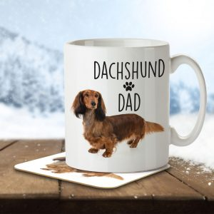 Dachshund Dad – Mug and Coaster