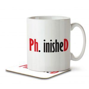 Ph.inisheD – Mug and Coaster
