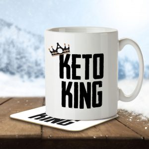 Keto King – Mug and Coaster