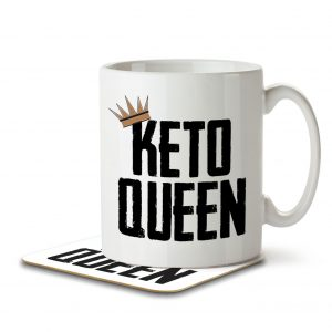 Keto Queen – Mug and Coaster