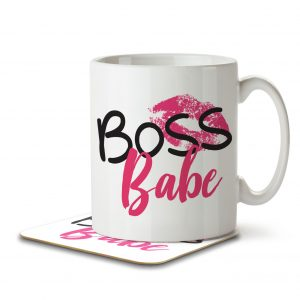 Boss Babe – Mug and Coaster