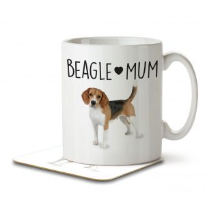 Beagle Mum – Mug and Coaster
