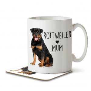 Rottweiler Mum – Mug and Coaster