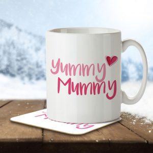 Yummy Mummy – Mug and Coaster