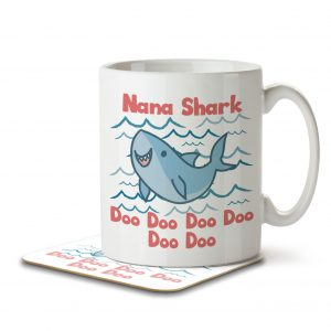 Nana Shark – Mug and Coaster