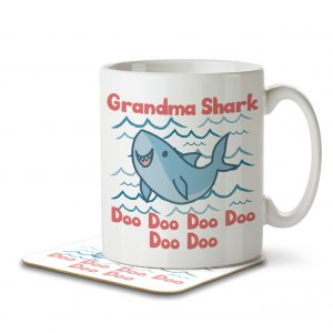 Grandma Shark – Mug and Coaster