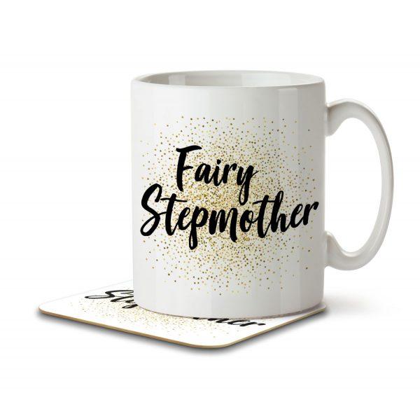 Fairy Stepmother - Mug and Coaster - MNC MUM 091 WHITE