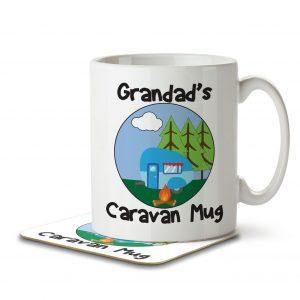 Grandad's Caravan Mug – Mug and Coaster