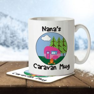 Nana's Caravan Mug – Mug and Coaster