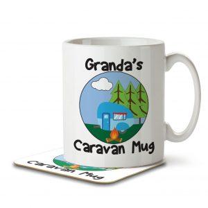 Granda's Caravan Mug – Mug and Coaster