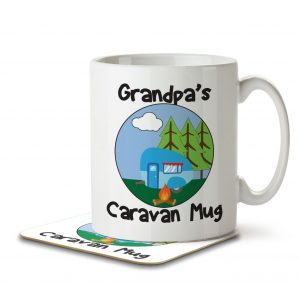 Grandpa's Caravan Mug – Mug and Coaster