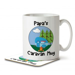 Papa's Caravan Mug – Mug and Coaster