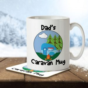 Dad's Caravan Mug – Mug and Coaster