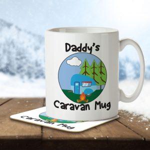 Daddy's Caravan Mug – Mug and Coaster