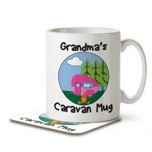 Grandma's Caravan Mug – Mug and Coaster