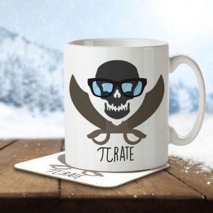 Pi Rate – Mug and Coaster