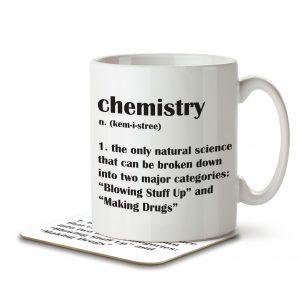 Chemistry Funny Definition – Mug and Coaster