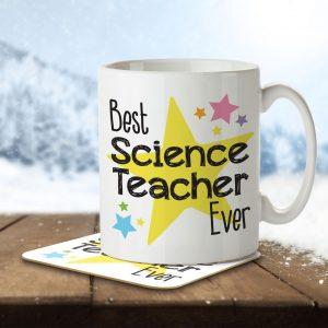 Best Science Teacher Ever – Mug and Coaster