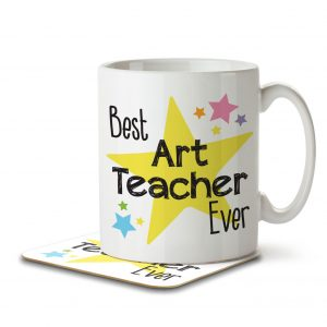 Best Art Teacher Ever – Mug and Coaster