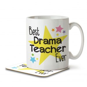 Best Drama Teacher Ever – Mug and Coaster