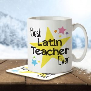 Best Latin Teacher Ever – Mug and Coaster