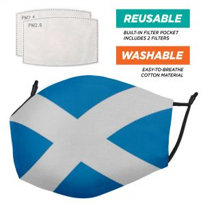 The Flags Range – Face Masks – 2 Filters Included
