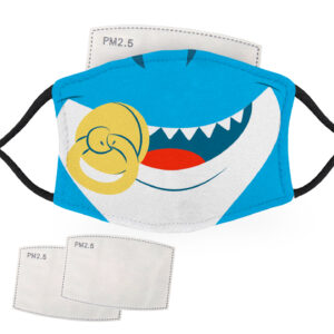 Shark Baby Face – Adult Face Masks – 2 Filters Included