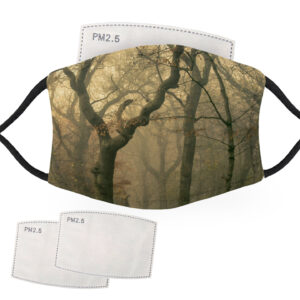 Creepy Forest Scene – Adult Face Masks – 2 Filters Included