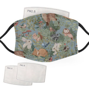 The Full Animal Pattern Range Animal Pattern – Face Masks – 2 Filters Included