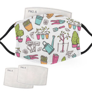 Gardening – Child Face Masks – 2 Filters Included