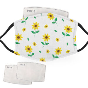 Sunflowers – Child Face Masks – 2 Filters Included