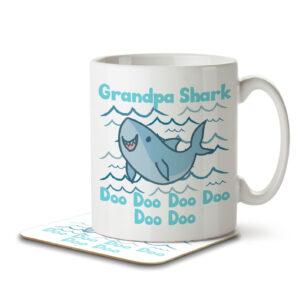 Grandpa Shark – Mug and Coaster