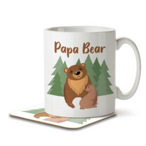 Papa Bear – Mug and Coaster