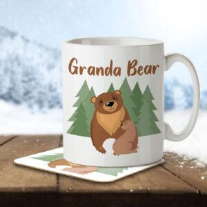 Granda Bear – Mug and Coaster