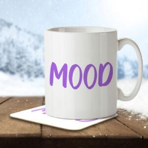 Mood – Gen Z Teenagers and Students – Mug and Coaster