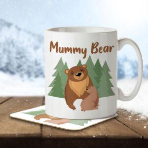 Mummy Bear – Mug and Coaster