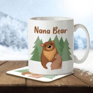 Nana Bear – Mug and Coaster