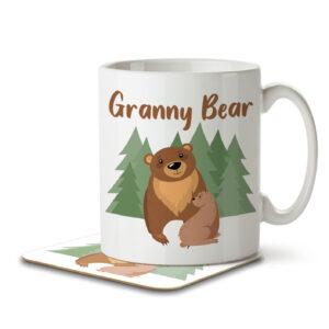 Granny Bear – Mug and Coaster